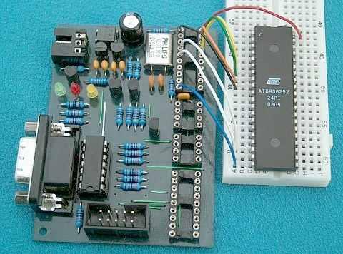 tsp-ic-8252-atmel-avr-bred-board
