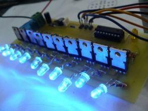 10 kanal 12volt 60watt lamba efekt devresi pic16f628a