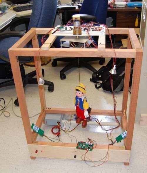 PIC33FJ256MC510 robotic puppet controls PIC33FJ256MC510 robot complete