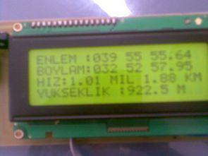 LPC2148 arm ile gps gsm uyguluması