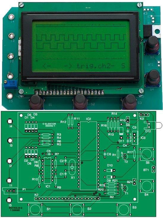 pic18f4580-4-channel-logic-analyzer-circuit-glcd-assembly