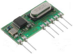 PIC16F628 ile 4 kanal alıcı verici RF uygulaması