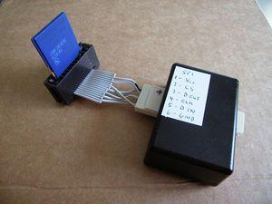 spi-sdcard-pic16f819-RS232-SPI-interface