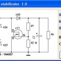 Mosfetli elektronik transformatör hesaplayıcı programı