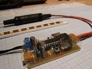 Usb rgb şerit led kontrolü PIC18F2550 mosfet sürücü