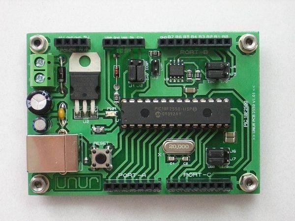 pic18f2550 usb circuits pic18f2550 wiring diagram free