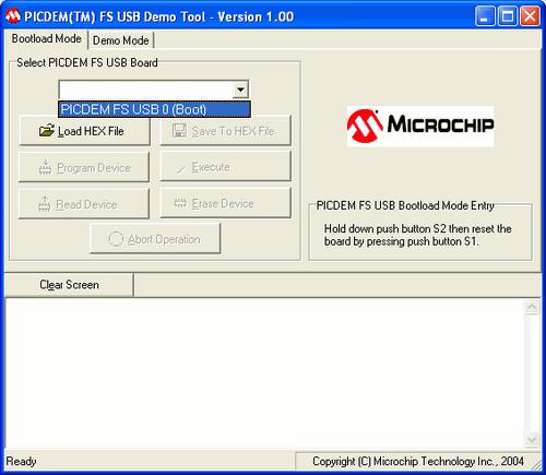 PICDEM-FS-USB-0-Boot