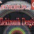 Elektrobilim E-Dergi Sayı-1 Yayımlandı