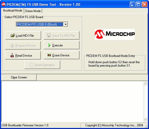 picdem-usb-demo-tool