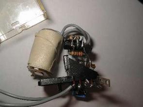 12V Röle bobinini kullanarak yapılan basit şok devresi
