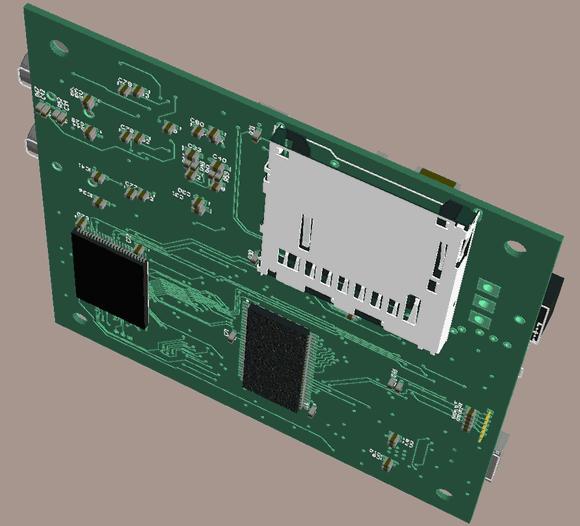 uClinux Xilinx Fpga Spartan Board Xilinx spartan 3 xc3s400 fpga uclinux 3d