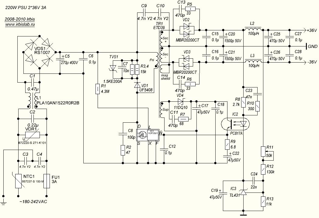 ac-anahtarlama-guc-kaynagi-unitesi-36v-220w-switching-power-supply