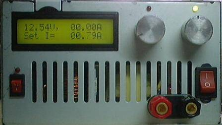 3 20V 01 10A Power Supply Circuit Atmega8 LCD Ammeter, Voltmeter atmega8 power supply volt amper lcd