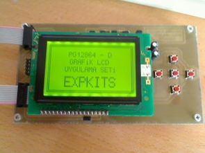 EXPKITS EX1-C (EX8L) İçin Grafik Lcd Kartı