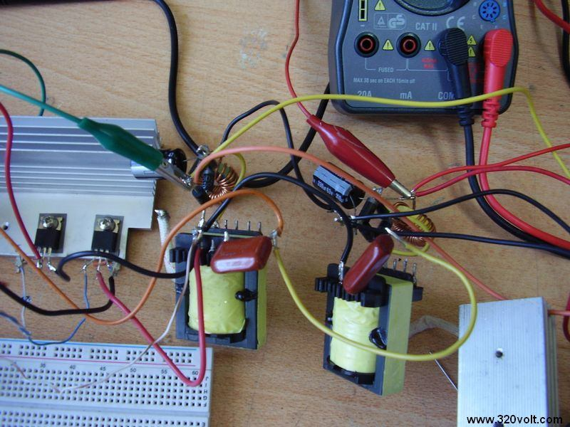 IR2153 SMPS Circuit Project 2x50v Switch Mode Power Supply Test ...