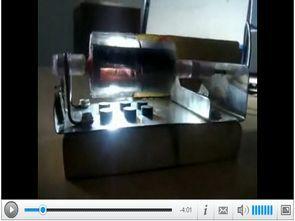Işık ile çalışan güneş pilli el yapımı motor (rotor)