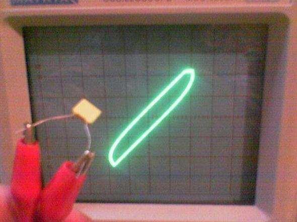Oscilloscope to Test Components  Circuit  osiloskop komponent malzeme test olcum