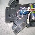 Toy car remote control Circuit  PIC18F452 PIC16F628 oyuncak araba kumanda ir alici verici pic16f628 pil devre 120x120