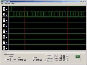 PC paralel portundan çalışan lojik analizör programı