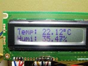 PIC16F628 SHT11 lcd termometre mikropascal