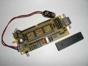 PIC16F877 için deney kartı