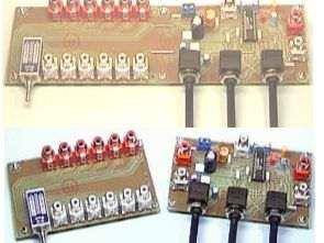 PT2350 Ton kontrol subwoofer cross over filtre 2+1