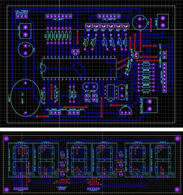 saat-tarih-sicaklik-16f877-ds1302-lm35-7segment-ccs-c