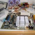 Handmade Transparent Plexiglass  Computer Case 04 pleksiglas transparan kasa motherboard 120x120
