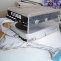 Handmade Transparent Plexiglass  Computer Case 09 pleksiglas transparan kasa diski 120x120