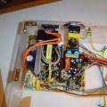 Handmade Transparent Plexiglass  Computer Case 21 pleksiglas transparan kasa vgrajen ventilator 120x120