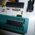 Atmel  USB Programmer Circuit ZIF Socket Usbasp ATmega8 3 atmel atmega8 atmega48 usb programmer zif usbasp 120x120