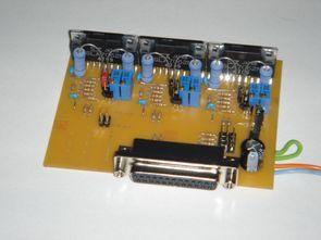 3 Axis LPT CNC Motor Kontrol Sanken SLA7062M