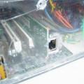 Handmade Transparent Plexiglass  Computer Case 31 pleksiglas transparan kasa vgrajena mrezna 120x120