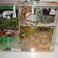 Handmade Transparent Plexiglass  Computer Case 37 pleksiglas transparan kasa od spodaj 120x120