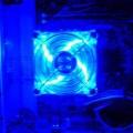 Handmade Transparent Plexiglass  Computer Case 41 pleksiglas transparan kasa ventilator ponoci 120x120