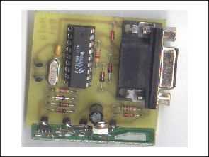 433MHz RF RS232 Alıcı verici devresi Winamp kontrol