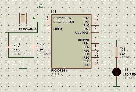 Led1-PIC16F84-B-portunun-0-bitine-Led-diyodu-500-mili-Saniye-yakip-sonduren