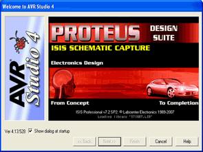 AVR Studio 4 ile Proteus isis kullanımı (Remote Debug)