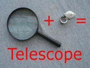 Büyüteç ve pet şişe ile basit teleskop yapımı