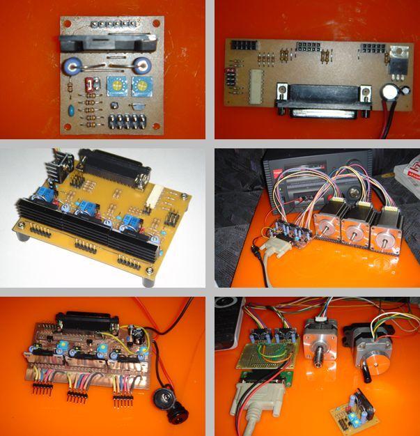 SLA7062M Motor Control Circuit 3 Axis CNC  Project cnc control Bord sanken motor driver