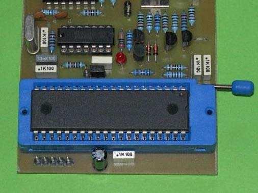 MC68HC908GP32 Programmer Circuit mc68hc908gp32 programmer circuit