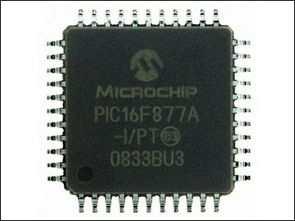 Microchip PIC mikrodenetleyici resimleri
