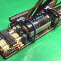 TA8210 ile 4x20w araba anfisi TDA1524 bass tiz balans ses kontrol