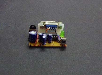 Winamp IR control Circuit VisualBasic PIC16F627 RS232 winamp remote kumanda ir verici