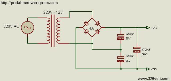 12v Ac - 24v Dc Voltage Doubler