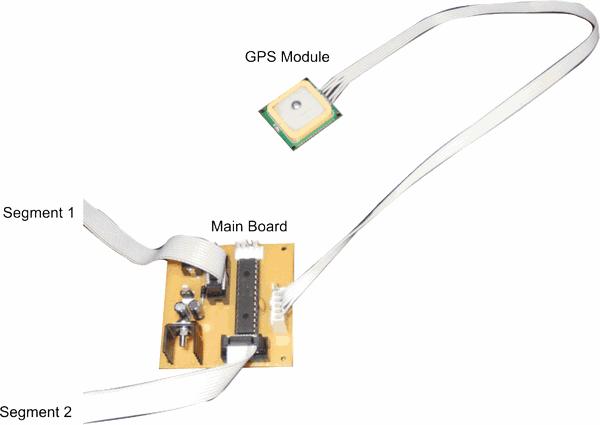 GPS-Saat-LS20031-GPS-Clock-Main-Board