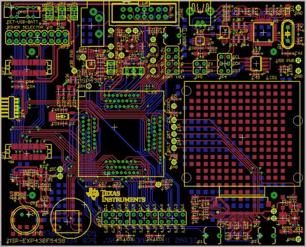 MSP-EXP430F5438-eagle-pcb