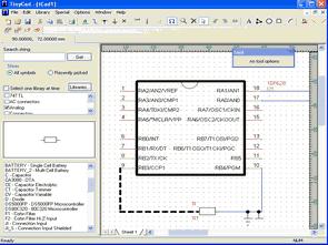 TinyCAD bedava devre şeması hazırlama programı