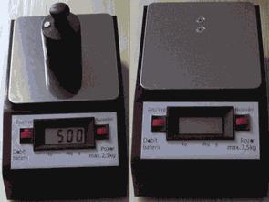 AT89C2051 DF2S-3 LCD Göstergeli dijital terazi