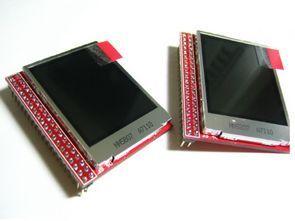 Atmel AVR, ARM, STM32, LPCXX TFT LCD Uygulamarı